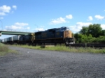 CSX 4780 & CSX 92 head WB
